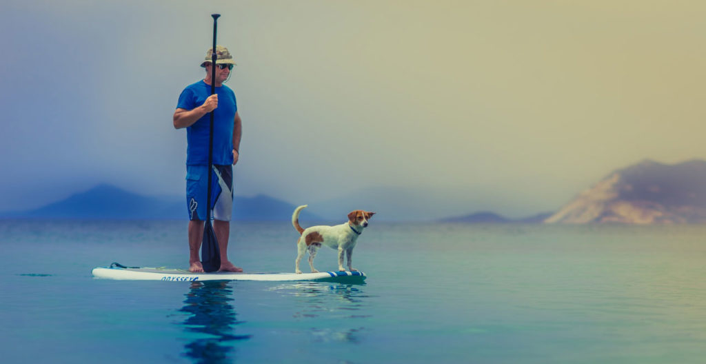 Best Inflatable Stand Up Paddle Board with Dog