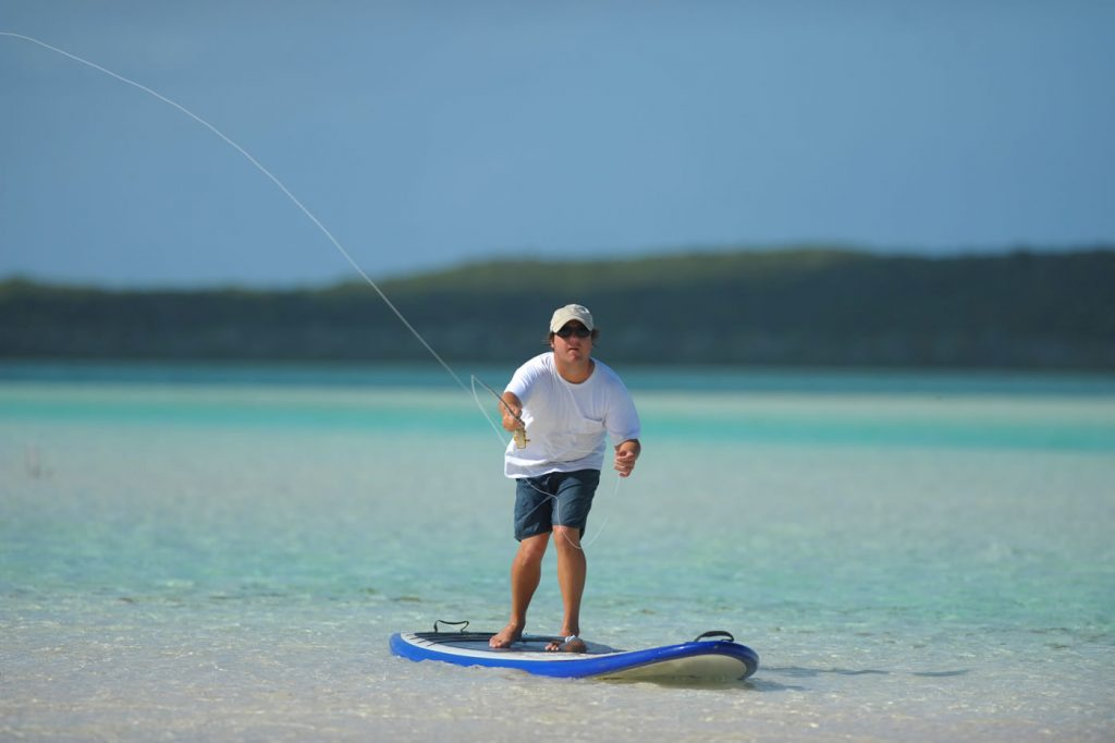 Inflatable SUP Fishing