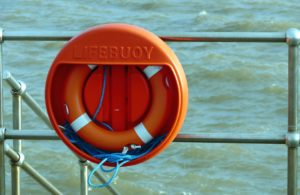 Use a Life Preserver if Boat Capsizes